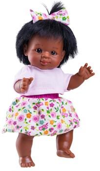 Кукла-пупс Флори, 21 см, мулатка, Паола Рейна - фото 5462