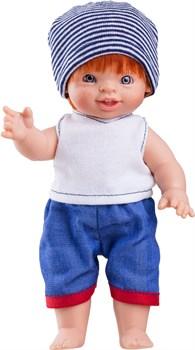 Кукла-пупс Фабиан, 21 см, европеец, Паола Рейна - фото 5467