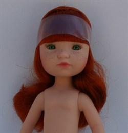 Кукла Гретта б/о, рыжая с зелеными глазами, 35 см, Berjuan - фото 5736