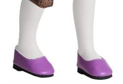 Туфли фиолетовые, для кукол 32 см, Паола Рейна - фото 5756