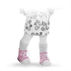 Кроссовки розовые, для кукол 42 см, Паола Рейна - фото 5921