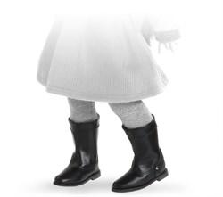 Сапоги черные с застежкой-липучкой, для кукол 42 см, Паола Рейна - фото 5927