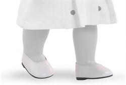 Туфли белые, для кукол 42 см, Паола Рейна - фото 5931