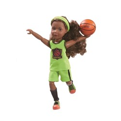Кукла Джой Kruselings баскетболистка, 23 см - фото 6795