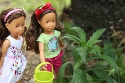 Кукла София Kruselings в летнем праздничном платье, 23 см - фото 6806