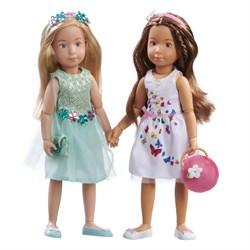 Кукла София Kruselings в летнем праздничном платье, 23 см - фото 6808