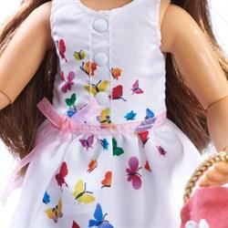 Кукла София Kruselings в летнем праздничном платье, 23 см - фото 6809