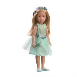 Кукла Вера Kruselings в нарядном платье для вечеринки, 32 см - фото 6817