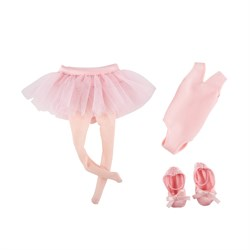 Одежда балерины для куклы Вера Kruselings, 23 см - фото 6827