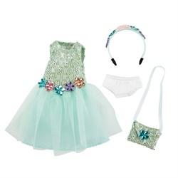 Одежда для вечеринки с аксессуарами для куклы Вера Kruselings, 23 см - фото 6842