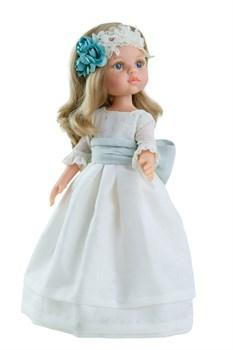 Кукла Карла причастие, 32 см, Паола Рейна - фото 7138