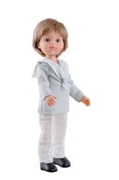 Кукла Луис причастие, 32 см, Паола Рейна - фото 7140