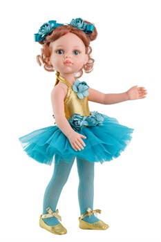 Кукла Кристи балерина, 32 см, Паола Рейна - фото 7146
