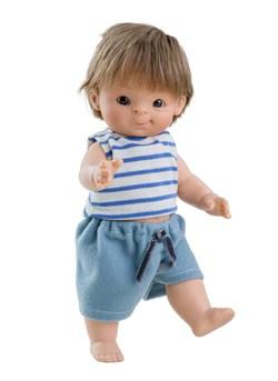 Кукла-пупс Федель, 21 см, европеец, Паола Рейна - фото 7239