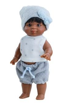 Кукла-пупс Иван, 21 см, мулат, Паола Рейна - фото 7247
