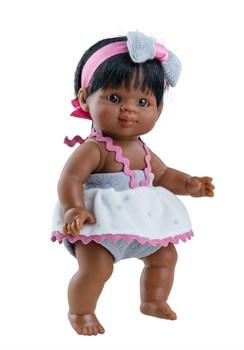 Кукла-пупс Флори, 21 см, мулатка, Паола Рейна - фото 7249