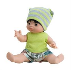 Кукла-пупс Фермин, 21 см, азиат, Паола Рейна - фото 7251