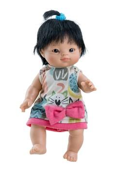 Кукла-пупс Флора, 21 см, азиатка, Паола Рейна - фото 7253