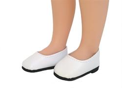 Туфли белые для кукол 32 см, Паола Рейна - фото 7258