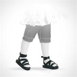 Сандали черные, для кукол 32 см, Паола Рейна - фото 7266