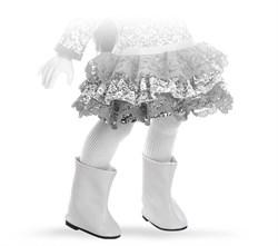 Сапоги белые для кукол 32 см, Паола Рейна - фото 7272