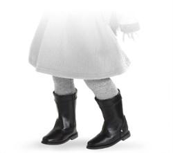 Сапоги черные с застежкой-липучкой, для кукол 42 см, Паола Рейна - фото 7285