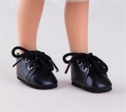 Ботинки черные со шнурками, для кукол 32 см, Паола Рейна - фото 7295
