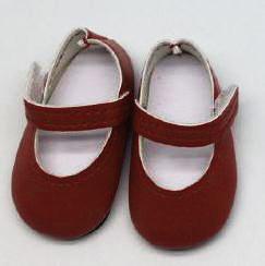 Туфли бордовые, для кукол 32 см, Паола Рейна - фото 7307