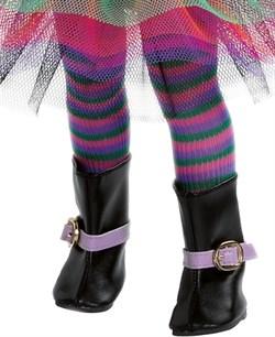 Колготки полосатые, разноцветные для кукол 32 см, Паола Рейна - фото 7612