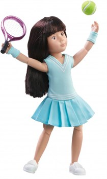 Кукла Луна Kruselings теннисистка, 23 см - фото 7917