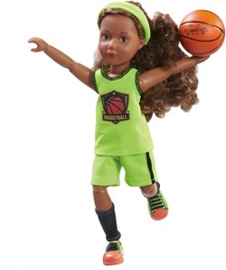 Кукла Джой Kruselings баскетболистка, 23 см - фото 7919