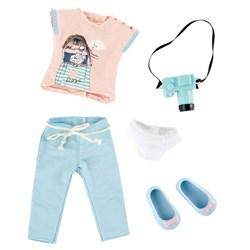 Одежда и обувь для куклы Луна Kruselings фотограф, 23 см - фото 7977