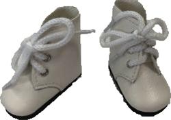 Ботинки белые, для кукол 32 см, Паола Рейна - фото 8097