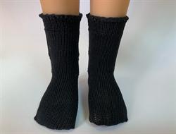 Носочки черные, ажурные для кукол 32 см, Паола Рейна - фото 9225