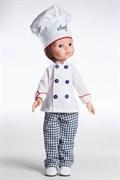 Кукла Карлос повар, 32 см, Паола Рейна
