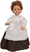 Кукла Долореc в коричневом платье, 42 см, Паола Рейна