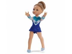 Кукла Гимнастка в голубом платье, 32 см, Паола Рейна
