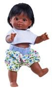 Кукла-пупс Иван, 21 см, мулат, Паола Рейна
