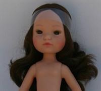 Кукла б/о, брюнетка с карими глазами, 35 см, Berjuan