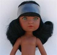 Кукла Гретта б/о, мулатка с зелеными глазами, 35 см, Berjuan