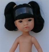 Кукла Гретта б/о, японка с черными волосами и глазами, 35 см, Berjuan