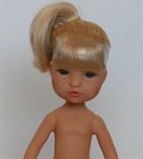 Кукла Гретта б/о, платиновая блондинка с серо-голубыми глазами, 35 см, Berjuan