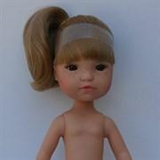 Кукла Гретта б/о, блондинка с карими глазами, 35 см, Berjuan