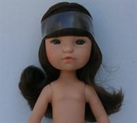 Кукла Гретта б/о, брюнетка с серо-голубыми глазами, 35 см, Berjuan