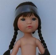 Кукла б/о, брюнетка с серо-голубыми глазами, 35 см, Berjuan