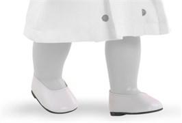 Туфли белые, для кукол 42 см, Паола Рейна