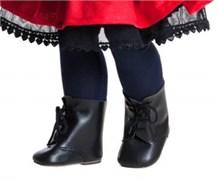 Ботинки черные, для кукол 60 см, Паола Рейна