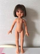 Эмили, брюнетка (каре, челка), без одежды, 33см, Антонио Хуан