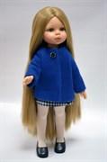 Кукла Карла в синем пальто, 32 см, Паола Рейна
