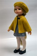 Кукла Карла в желтом пончо, 32 см, Паола Рейна